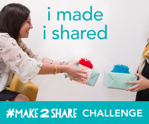I took the #make2share challenge!