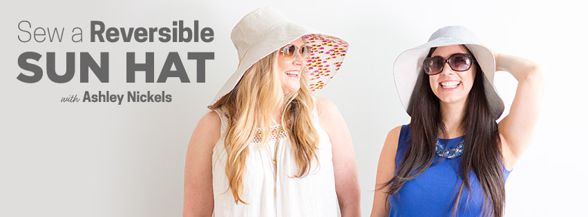 Sew a Reversible Hat