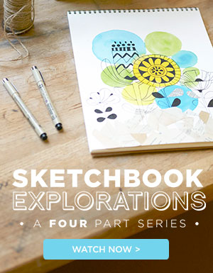 Sketchbook Explorations Series with Lisa Congdon