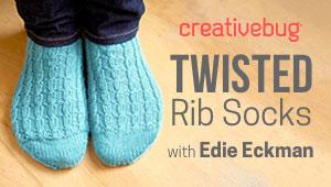Knit Rib Socks