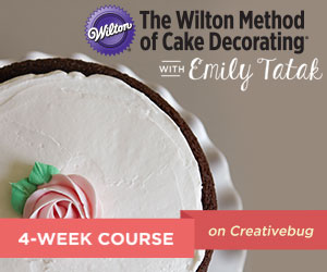 Creativebug Wilton Method Cake Decorating