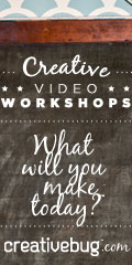 Creativebug Video Workshops on creativebug.com