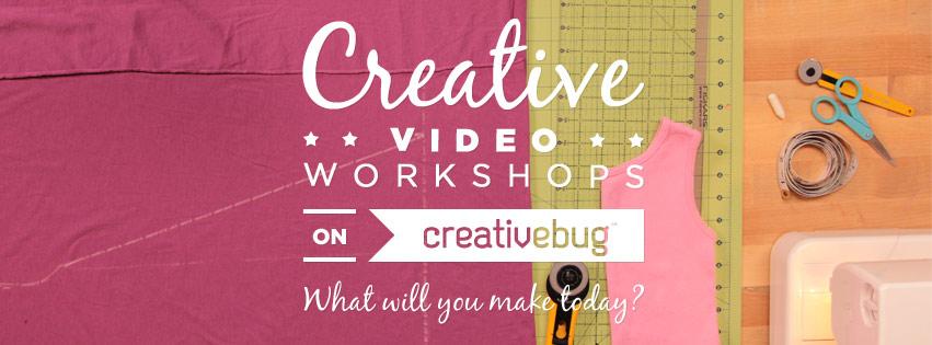 Creativebug Video Workshops on creativebug.com
