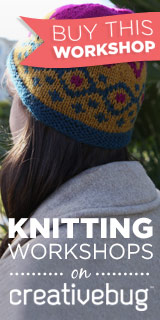 CreativeBug Knitting 160x320