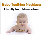 Baltic Amber Baby Teething Necklaces
