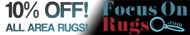 10% off all area rugs