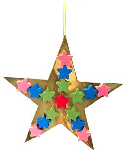 Star Ornament for Christmas Tree