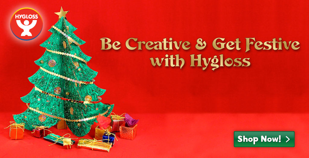 Be Creative and Get Festive With Hygloss