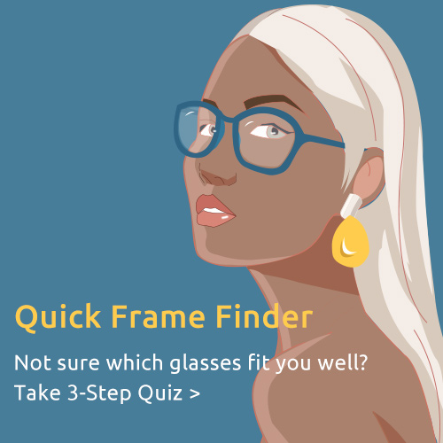Find your matching glasses in only ONE minute