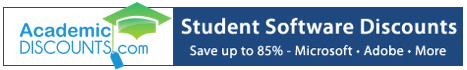 Student Software Discounts!