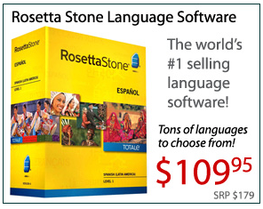 Awesome Rosetta Stone Prices for Students