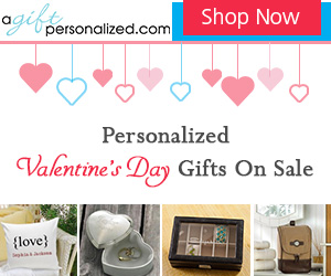 Valentine's Day Personalized Gift Ideas