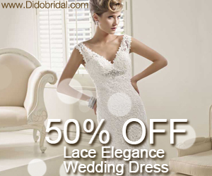 50% OFF Lace Elegance Wedding Dress