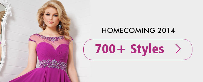 Up 75% OFF 2014 Style Homecoming Dresses
