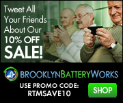Save 10% Off Your Entire Purchase From Brooklyn Battery Works