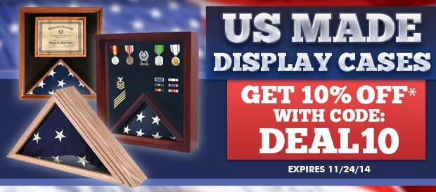 We offer american made flag display cases, Flag frames, and military gifts, visit us for great qulaty and fast service.
