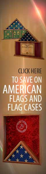 Buy Discount Flag cases, Flag frames, and military Flags