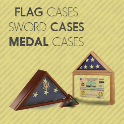 Melorail Day Sale on Flag Display Cases