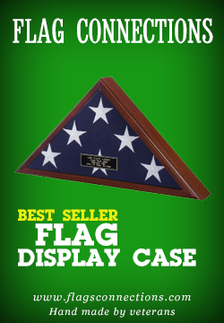 We offer discount price on american flags, and flag display cases, All Hand Made by Veterans
