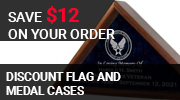 Military Flag Case Sale  !!!