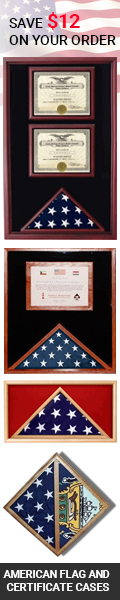 Discount Flag Display cases