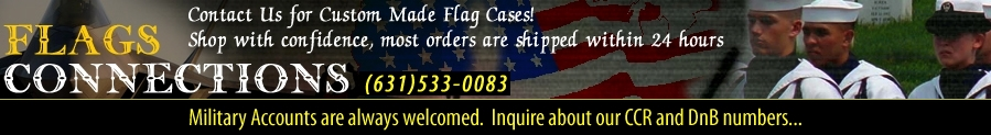 Flag display cases, American flags, Military flag cases, Military