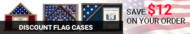 Flags Display Cases, Flag Frames, Flag Cases