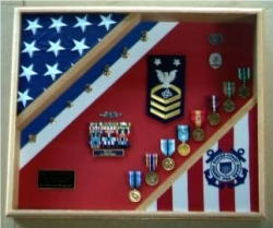 American Flag Display Cases, Flag Frames, Military Flag display cases