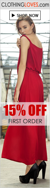15% OFF first order on ClothingLoves