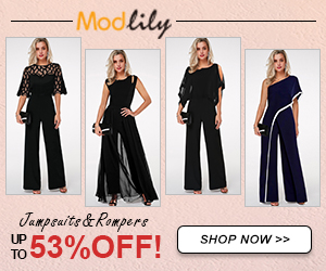 Modlily Jumpsuits&Rompers: UP TO 53% OFF!