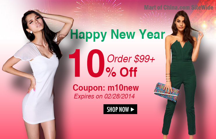 10% Off Order $99+ at Martofchina.com