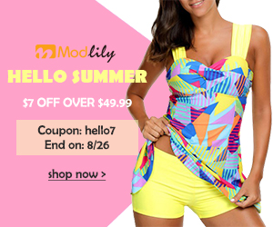 Hello Summer! $7 off Over $49.99 Coupon: hello7 End on: 8/26