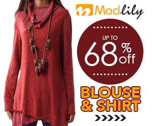 Modlily - Blouse & Shirt, Up to 68% off