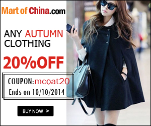 20% Off Any Autumn Clothing 300*250