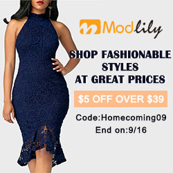 Shop Fashionable Styles At Great Prices $5 Off Over $39 Code:Homecoming09 End on:9/16