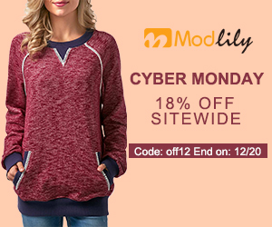 Cyber Monday 18% Off Sitewide Code: off12 End on: 12/20
