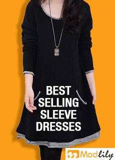 Best selling sleeve dresses