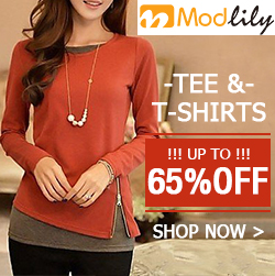 Tees & T-shirts, up to 65% off