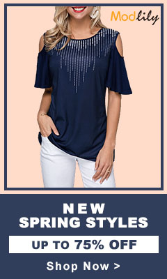 New Spring Styles,Up To 75% Off