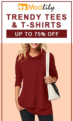 Trendy Tees & T-shirts,Up To 75% Off