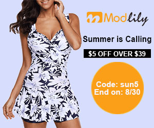 Summer is Calling $5 Off Over $39          Code: sun5 End on: 8/30