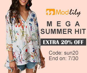 Mega Summer Hit          Extra 20% Off           Code: sun20 End on: 7/30