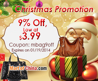 9% Off Handbag Christmas 336*280