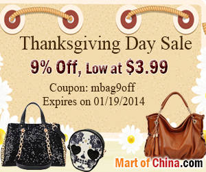 9% Off Handbag Thanksgiving 300*250