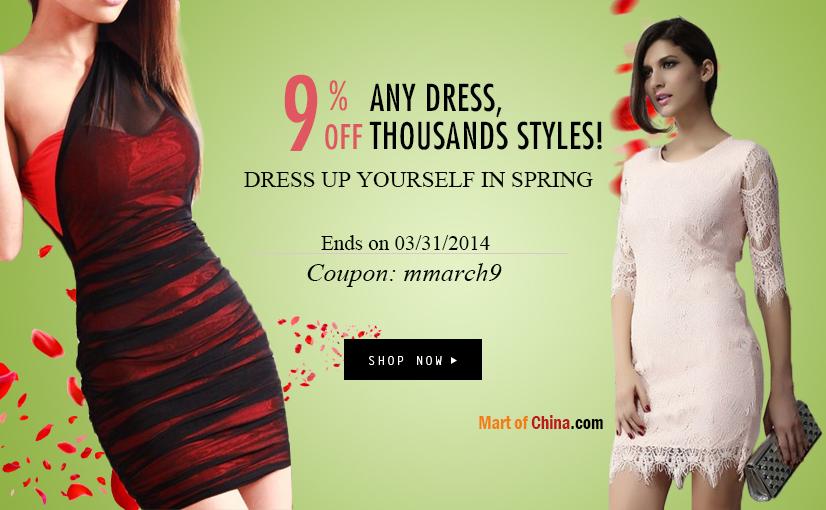 9% Off Spring Dress 826*510