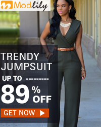 Hot sale jumpsuit from modlily.com with free shipping worldwide!