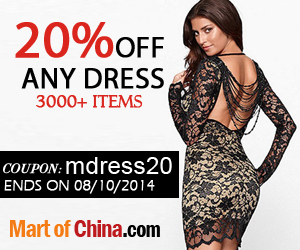 20% off any dress with Coupon: mdress20 300*250