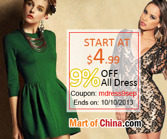 9% Off All Dress 336*280