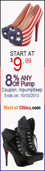 8% Off ANY Pump 160*600