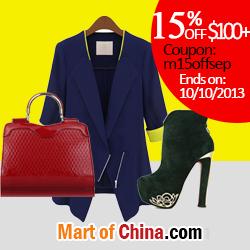 15% Off $100+ at Martofchina.com 250*250